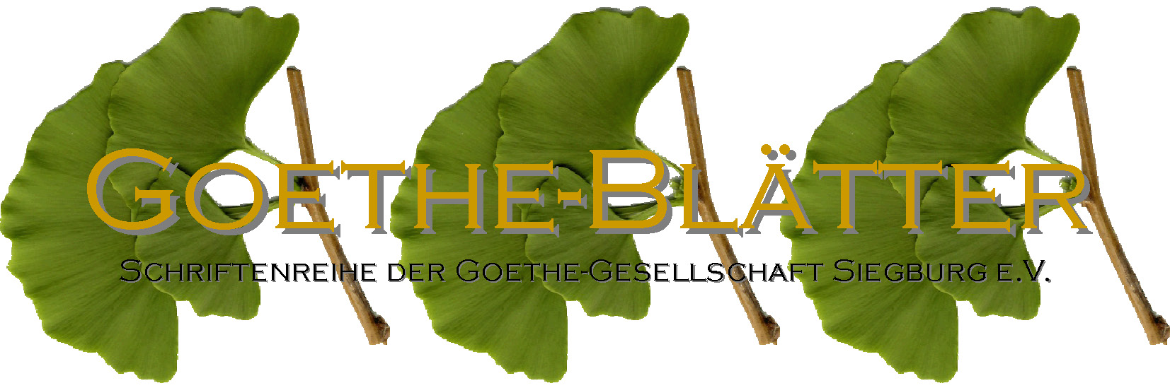 Logo Goethe-Blätter