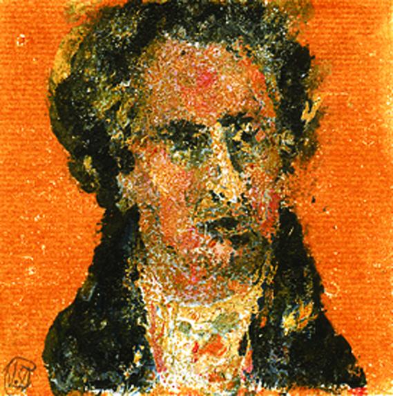 Goethe-Portrait, Stommel